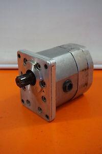 Orsta C40-2 Hydraulic Pump Doppelpumpe Tgl 10859 Hydraulic-Pump Zahnradmotor