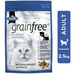 Fussy Cat Grainfree with Salmon Whitefish & Olive Oil Cat Food 2.5kg