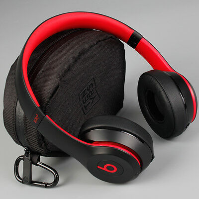 Beats Solo3 Wireless On-Ear Headphones Beats Decade Collection-Defiant  Black-Red 190198730268 | eBay