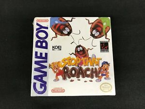 Stop-That-Roach-Nintendo-Game-Boy-Brand-New-Factory-Sealed