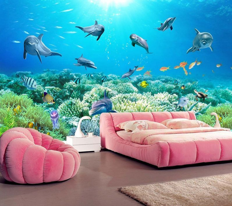 3D Undersea Animals And Plants 38 Wall Paper Wall Print Decal Wall AJ Wall Paper