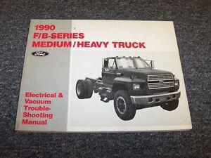 1990 ford f600 f700 f800 b600 b700 electrical wiring \u0026 vacuumimage is loading 1990 ford f600 f700 f800 b600 b700 electrical