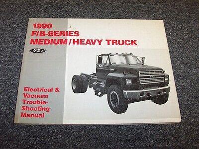 1990 Ford F600 F700 F800 B600 B700 Electrical Wiring