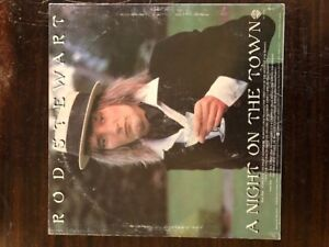 Vintage-Rod-Stewart-A-Night-on-the-Town-Record-Vinyl-Album
