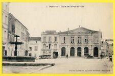 cpa 24 - NONTRON Grand Hôtel MICHAUDEL BELLIER Imprimerie UNION MONTRONNAISE