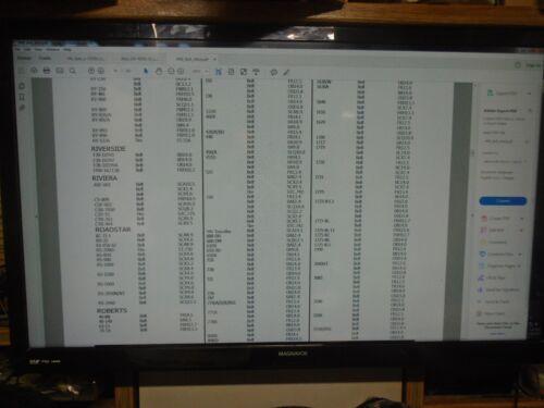 "ROBERTS CAPSTAN BELT NEW SIZE FL13.4/"" FOR 525 530 710 720 770 771X"