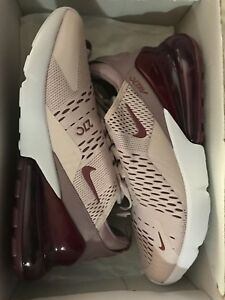 2710fb63a0 Nike W Womens Air Max 270 Barley Rose Vintage Wine AH6789 601 Pink ...