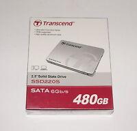 Transcend Ssd220s 2.5 480gb Sata Internal Solid State Drive Ts480gssd220s