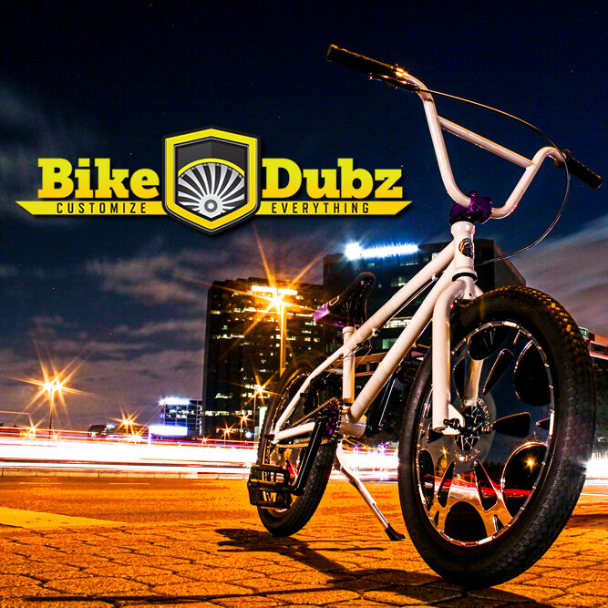 BikeDubz Mayhem 20 Inch Wheel Covers For BMX Bicycle Fits Animal Bikes