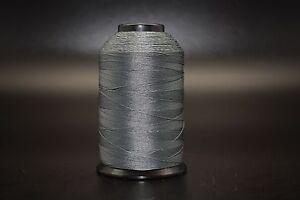 4oz-Dark-Gray-T90-1125-Yards-Bonded-Polyester-Sewing-Thread-92-Fabric-P74