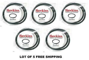 5 X Hawkins B10-09 Gasket for 3.5 to 8-Liter Pressure Cooker Sealing Ring
