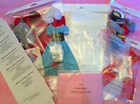 Vintage Barbie Archival Quality Clothes Display Bags 1964 Lot Get Organized