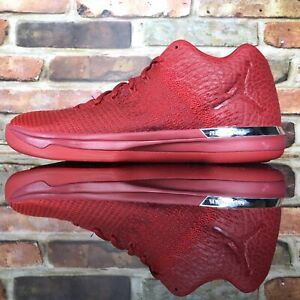 53cc2cb182ad Nike Air Jordan XXXI 31 Low Gym Red October Basketball Shoes 897564 ...