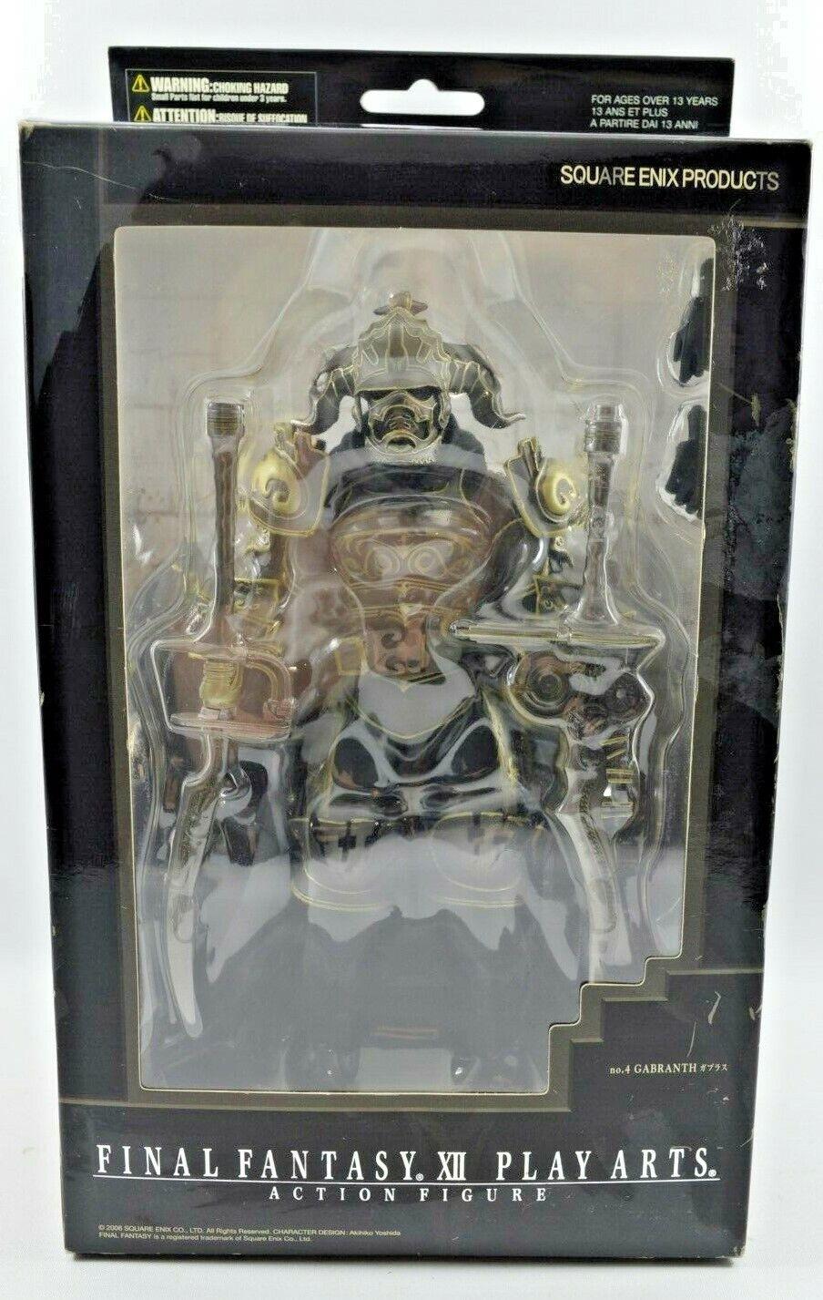 SQUARE ENIX   SLUT fantasi XII LEVER konstS- HANDLINGConstellation No. 4 GABRANTH IN låda