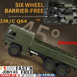JJRC Q64 1:16 2.4GHz 4CH 6WD RC Car Vehicle Military Command Truck Crawler-RTR A