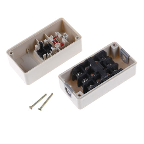 TBSP-330 3 phase 3.7Kw 30A power push button switch station on//off lock tendPDH