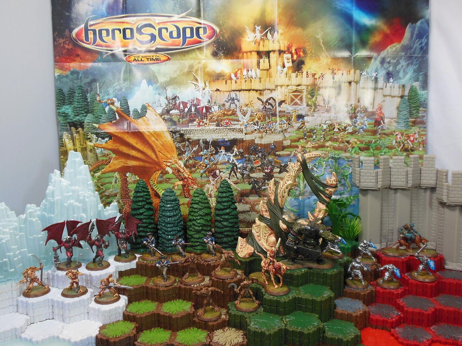 Heroscape Wave 2 Utgar s Rage- Knights, 4 e Mass, Drones, Minions, Krug & More