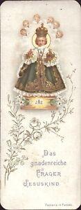 Prag-Jesus-Nino-Cuadro-Santos-Amria-Imagen-Milagrosa-Bohemia-Koloriert-B-6671