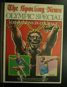 The-Sporting-News-Olympic-Special-Babe-Didrikson-Rafer-Johnson-magazine-1984