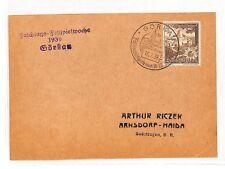 BB273 1939 Gorkau Germany Czech Republic Cover {samwells-covers}PTS