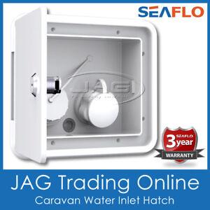GRAVITY/CITY WATER FILLER INLET HATCH SEAFLO Caravan Camper Trailer RV Boat 4x4