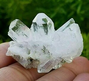 Natural-Clear-Quartz-Cluster-Quartz-Crystal-with-Free-Tumbled-US-SELLER