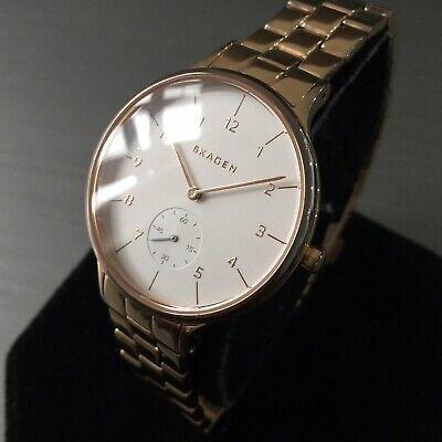 Ladies Skagen Designer Watch SKW2417 ANITA Rose Gold Steel Classic Sub Genuine | eBay