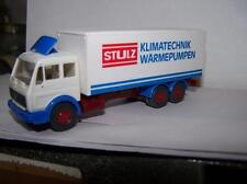 MB Koffer-Lkw  STULZ Klimatechnik - Wärmepumpen WIKING 1:87