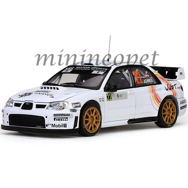 SUN STAR 4486 Subaru  Impreza WRC07  22 Corse Rallye France 2008 1 18 Blanc  meilleure vente