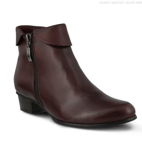 New In Box femmes Spring Step STOCKHOLM-P Bordeaux Leather démarrageies bottes
