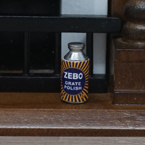 Dolls House Miniature 1//12th Scale Zebo Grate Polish