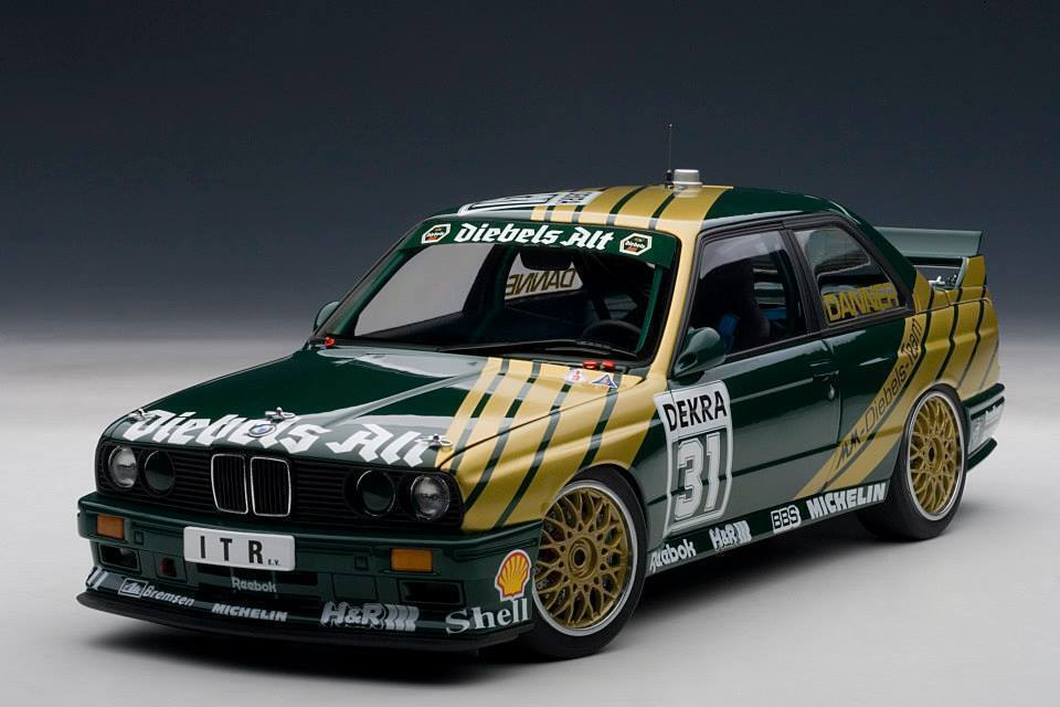 BMW M3 E30  31 DTM 1991 Danner Diebels 1 18 AUTOart