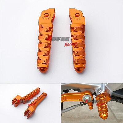 CNC Foot Pegs Pegals Rest Brackets Pillion Hangers For KTM Duke 125 200 390