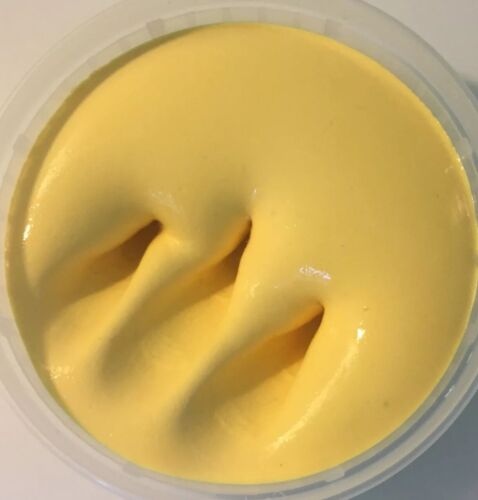 Mango Thickie Slime|Yellow Thick and Glossy|Mango scented 4 oz|Made in USA