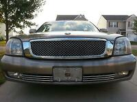 Cadillac Deville Chrome Mesh Bentley Grille Grill 2000-2005