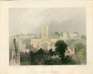 St-David-S-Cathedral-Engraved-IN-1836-By-B-Winkles