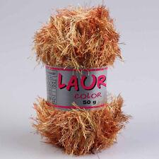 """100g Fransengarn """" Laura Savanne Color """" Fransenwolle Wolle stricken Brazilia"""