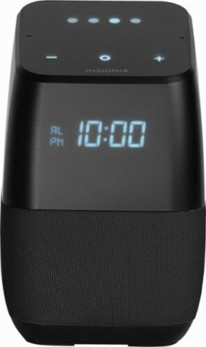 Insignia Voice Smart Bluetooth Speaker NS-CSPGASP-B