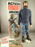 Action Man - 40th Adventurer With Brown Beard & Gripping Hands Boxed