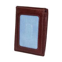 Men's Tommy Hilfiger Leather York Front Pocket Magnetic Money Clip Wallet