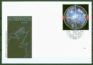Kroatien-Croatia-2009-Europa-CEPT-Astronomie-Weltall-Nr-905-06-FDC
