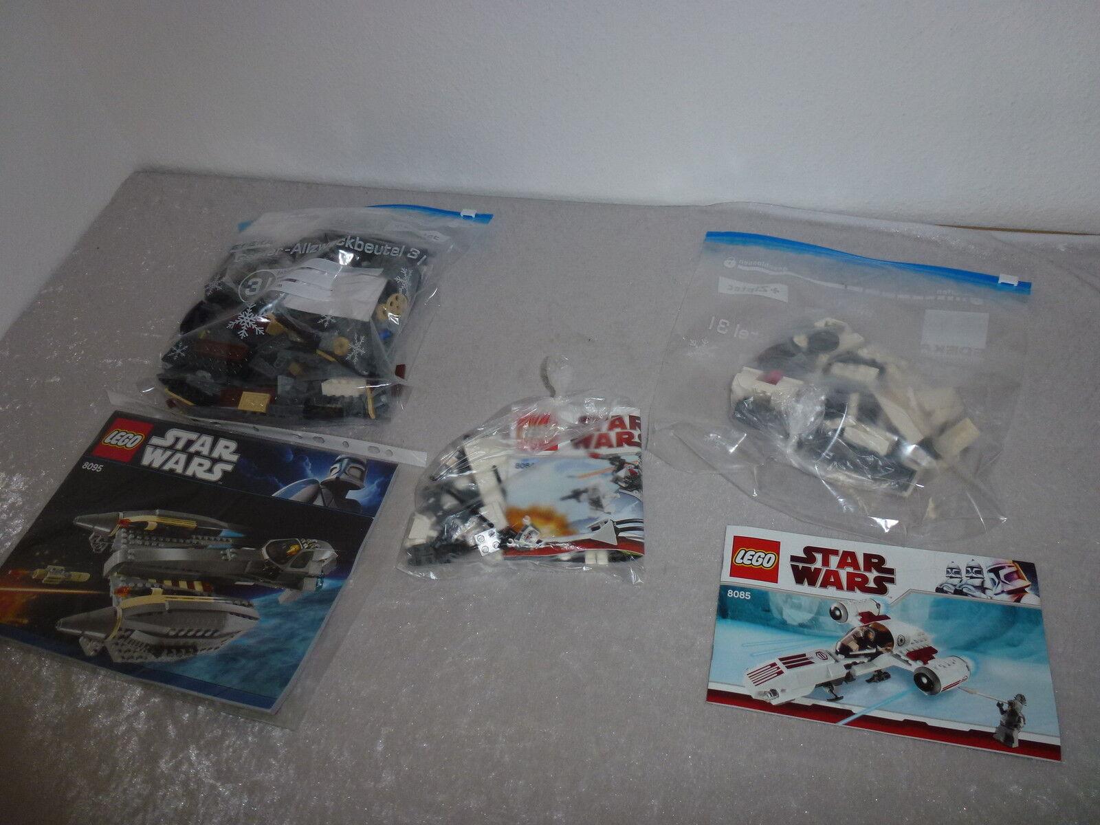 Lego Stern Wars KONVELUT 8095+8084+8085+ OBA Rarität NEUWERTIG