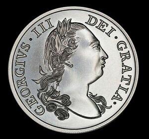 100% Wahr 2 Oz 999 Fein Silber Virginia Colonial 1774 Datiert Schilling König George Iii