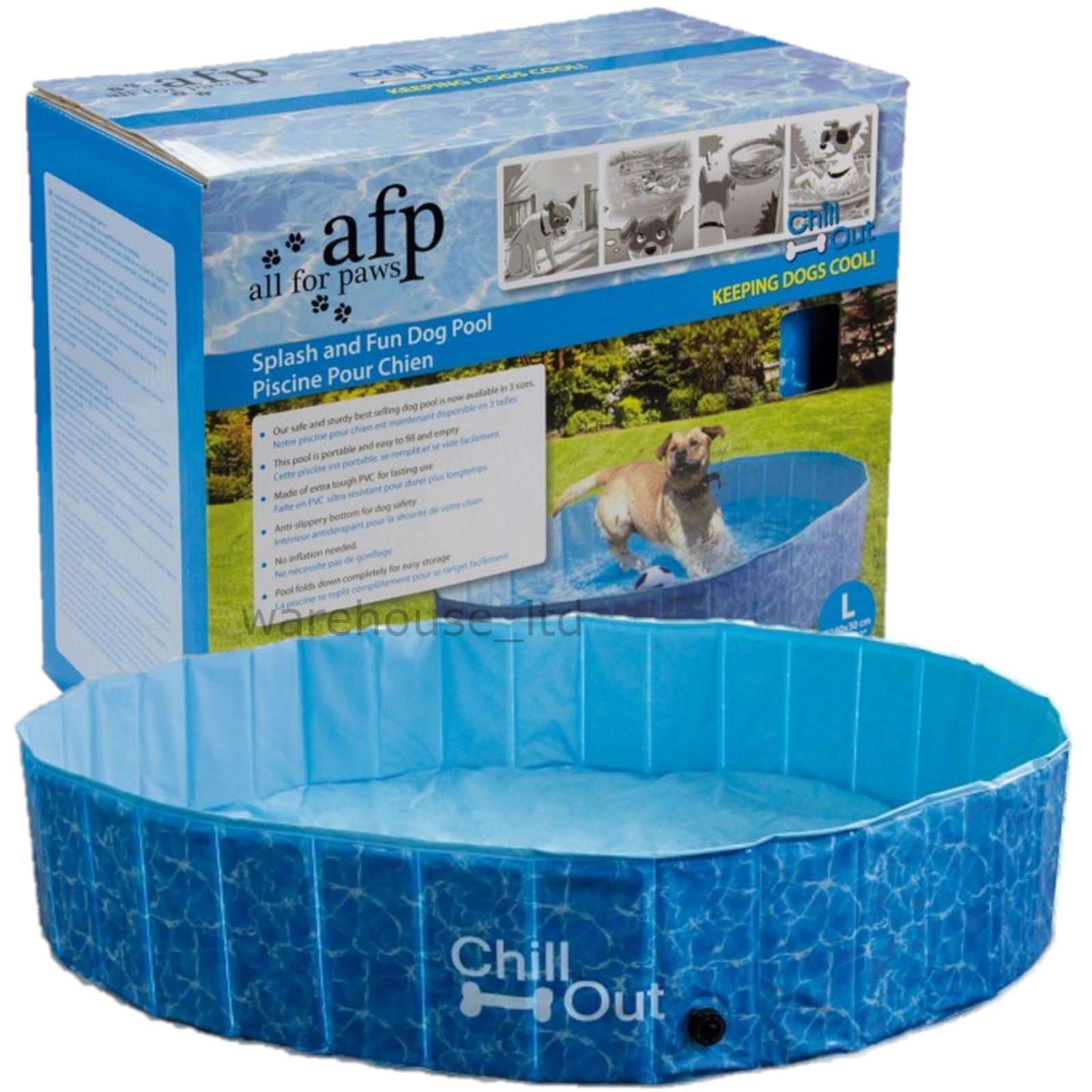 Tutto per zampe AFP rilassati Splash e divertente Cane Cucciolo Piscina Medio Grande
