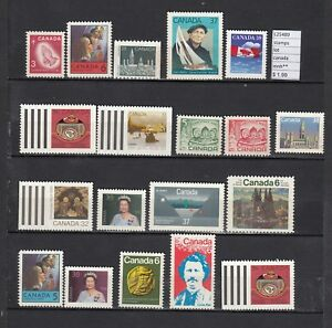 LOT-STAMPS-CANADA-MNH-L25489