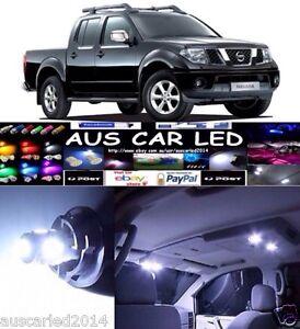 Nissan Navara D40 Dual Cab ST-X 550 2014 Super Bright White LED ...