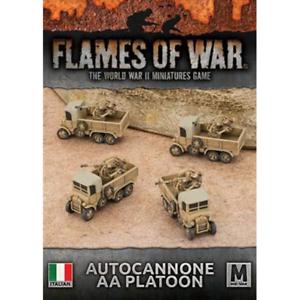 Flames of War BNIB Autocannone AA Platoon IBX20