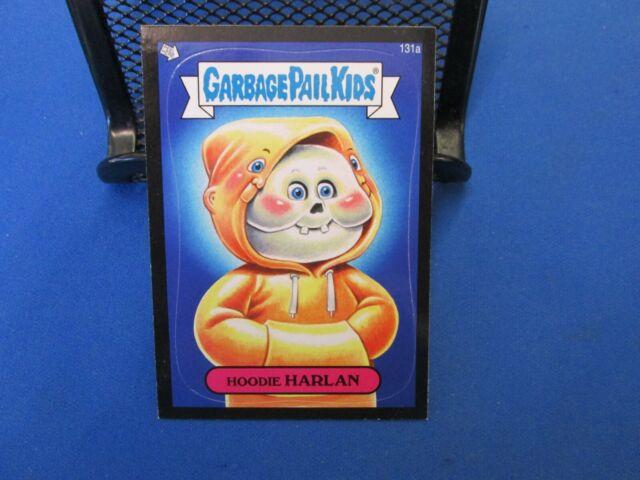 Garbage Pail Kids Mini Cards 2013 Black Parallel Base Card 159b Packing TATE