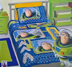 Toy Story Buzz Doona Single Bed Quilt Duvet Cover Set C Ebay