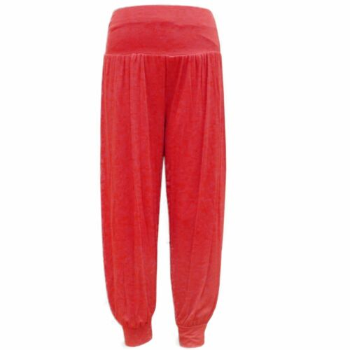 Girls Harem Trousers Full Length Ali Baba Gypsy Baggy Pants Leggings  2-13 yrs